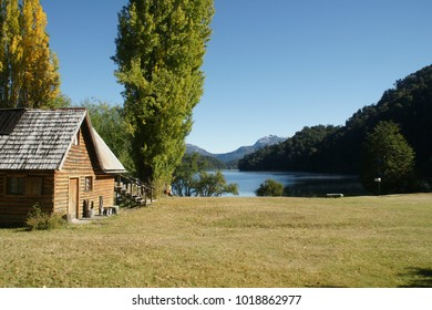A cabana by the lake (Argentina)