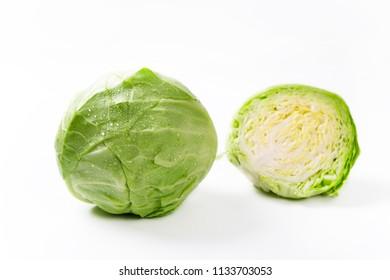 Cabbage closeup photo