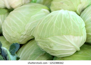 cabbage at the market