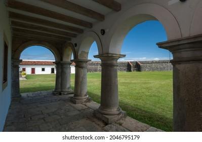 Cabedelo, next to Joao Pessoa, Paraiba, Brazil on May 11, 2005. Fortress of Santa Catarina.