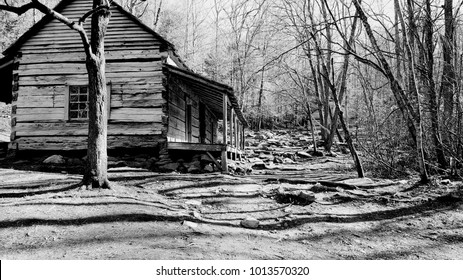 cabin from 1800s