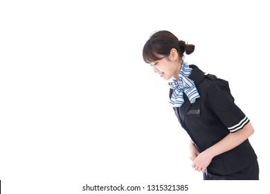 cabin attendant image