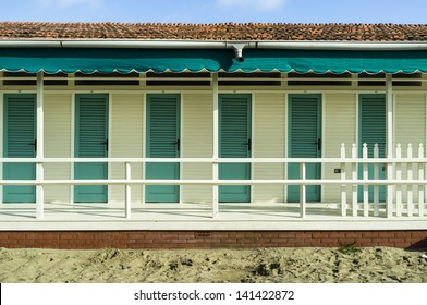 Cabin at the beach