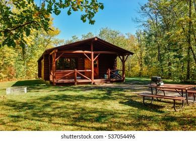 A cabin in the Camp Morton, Gimli MB