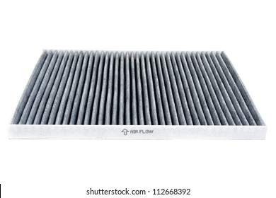 Cabin car with a carbon filter. Isolate on white background.