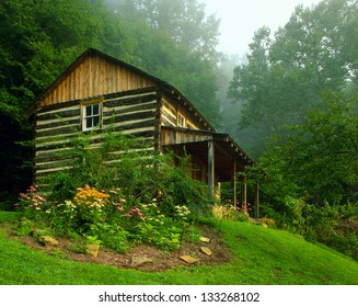 Cabin in clear Creek Metro Park Ohio