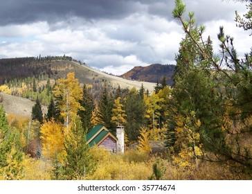 cabin in Colorado