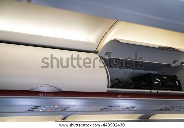 Cabin inside aircraft