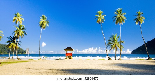 cabin on the beach, Maracas Bay, Trinidad