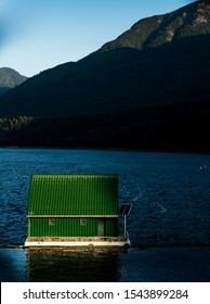Cabin on Capilano Lake in Vancouver, British Columbia
