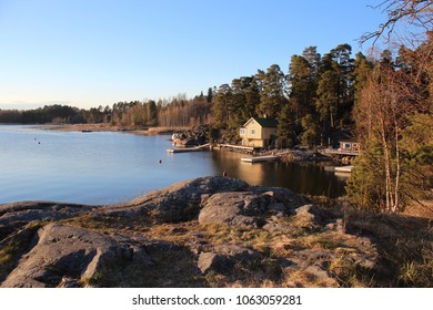 Cabin on a peninsula in Espoo, Finland