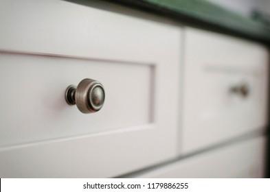 Cabinet hardware details