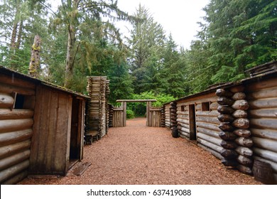 Cabins at Lewis and Clark National and State Historical Parks