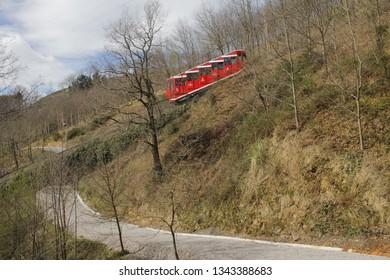 Cable car to Artxanda mountain