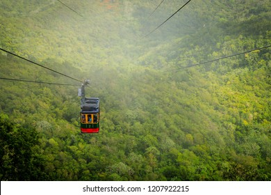 Cable car cabin on Mount Isabel de Torres, Puerto Plata, Dominican Republic
