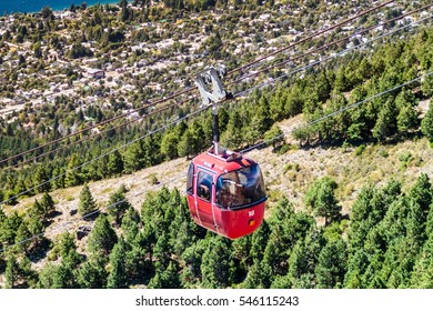 Cable car to Cerro Otto mountain near Bariloche, Argentina