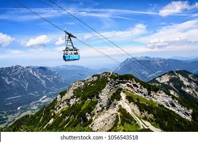 Cable car in Garmisch-Partenkirchen