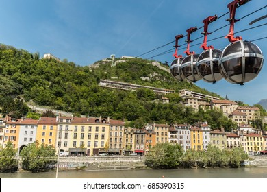 The cable car, Grenoble
