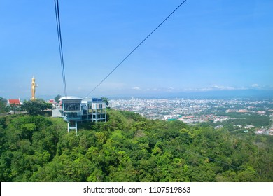 Cable Car at Hatyai Park, Thailand