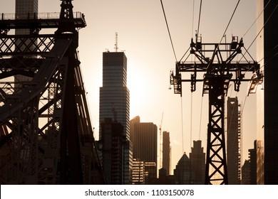 Cable Car in Manhattan