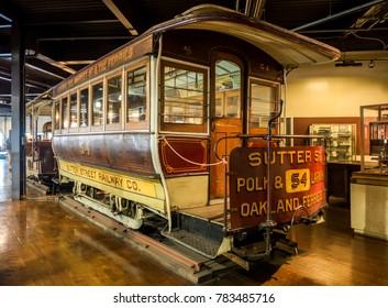 Cable Car Museum on the August 19th, 2017 - San Francisco, California, CA, USA