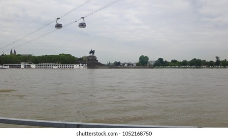 Cable car over the river
