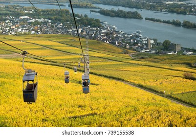 Cable Cars at Rudesheim, Germany