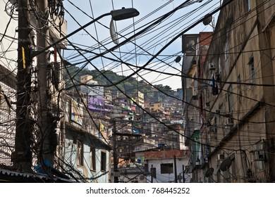 Cable Chaos in Rio de Janeiro