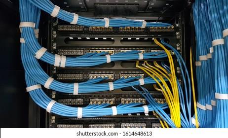 Cable Management Ethernet LAN UTP