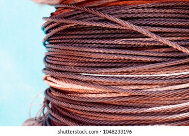 Cable Steel Wire or Steel Rope - Side View