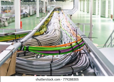 Cable tray epoxy dark grey : Houses runs of control and power cable used for cable and wire junction distribution and termination.