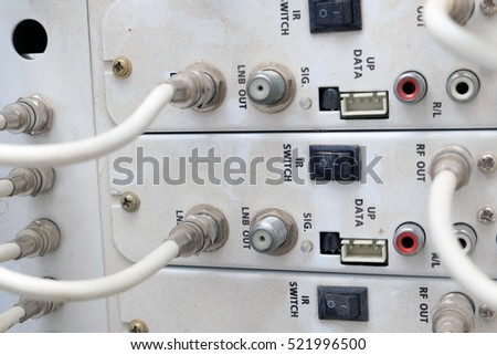 Miraculous Cable Tv Center System Service Stock Photo Edit Now 521996500 Wiring Digital Resources Hutpapmognl