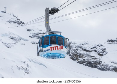 Cablecar to Mt. Titlis in Switzerland