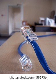 Cables used when networking computers