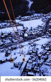 cableway in Tirol, Austria