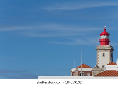 Cabo da Roca Lighthouse, the westernmost point of Europe in Portugal