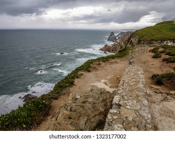 Cabo da Roca, the most western point of Europe, Portugal, May 2012.