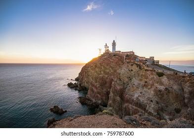 Cabo de Gata in Almeria, Spain