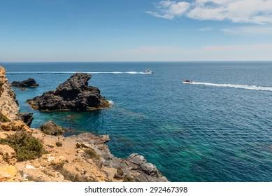 Cabo de Palos. Spain.