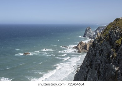 Cabo de Roca is a cape which forms the westernmost extent of mainland Portugal and continental Europe