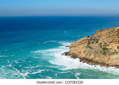 Cabo Espichel. Beautiful landscape. Atlantic Ocean Portugal