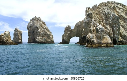 Cabo San Lucas in Mexico is a city in the Southern tip of the Baja California peninsula.