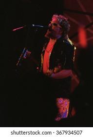 CABO SAN LUCASOCTOBER 98:Vocalist/Guitarist Sammy Hagar performs Circa October 1998 at the Cabo Wabo Cantina in Cabo San Lucas, Mexico.