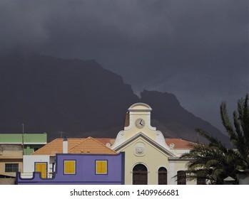 Cabo Verde San Vincente Mindelo colonial building
