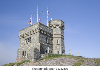 Cabot Tower is a focal point overlooking the city of St. John's, Newfoundland.  It was built on Signal Hill in 1897 to commemorate the 400th anniversary of the discovery of Newfoundland by John Cabot.