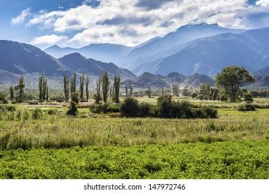 Cachi Adentro Region within Calchaqui Valleys in Salta Province, northern Argentina