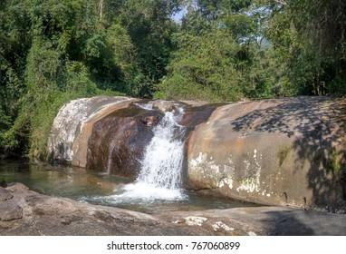 Cachoeira da Toca Waterfall - Ilhabela, Sao Paulo, Brazil