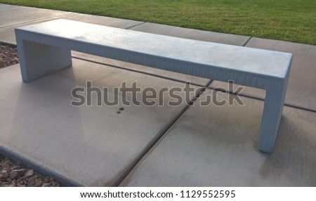 Cadence Central Park Bench Left View Stock Photo Edit Now