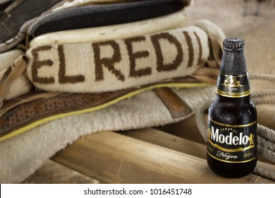 Cadereyta, Mexico - September 13.2017 Negra Modelo is a 5.4% abv Dunkel-style lager first brewed in Mexico by Austrian immigrants