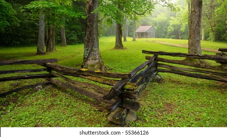 Cades Cove, The Great Smoky Mountains National Park